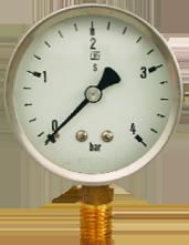 Манометры, запирающие клапаны, термометры
